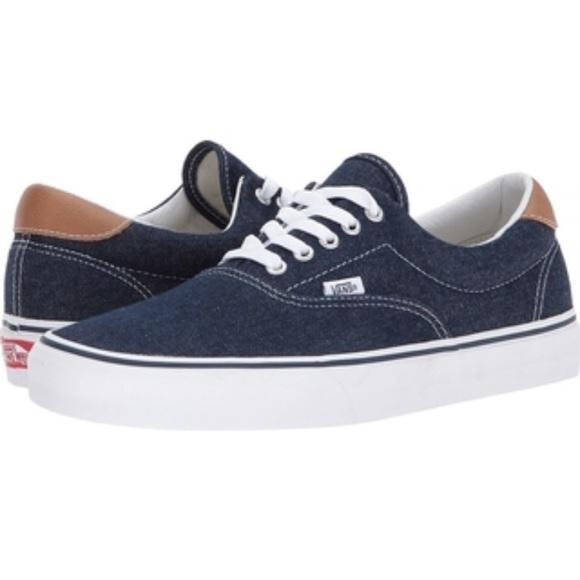 Vans era 59 denim C&L blue sneaker shoes